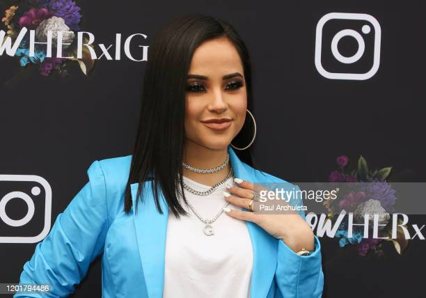Becky G attends Instagram's GRAMMY Luncheon on January 24 2020 in Los Angeles California