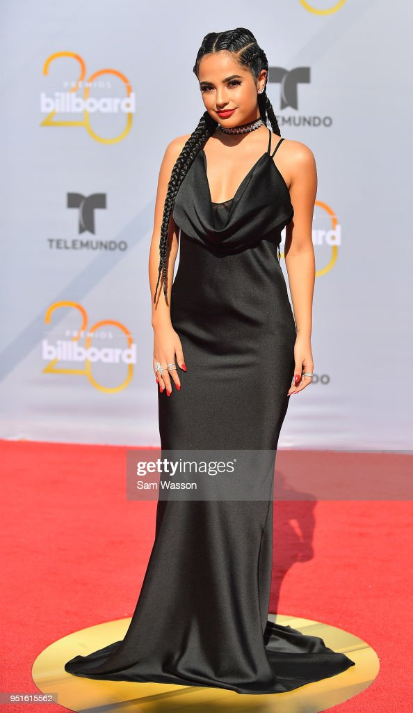 Becky G attends the 2018 Billboard Latin Music Awards at the Mandalay Bay Events Center on April 26, 2018 in Las Vegas, Nevada.