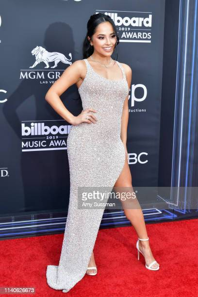 Becky G attends the 2019 Billboard Music Awards at MGM Grand Garden Arena on May 1 2019 in Las Vegas Nevada