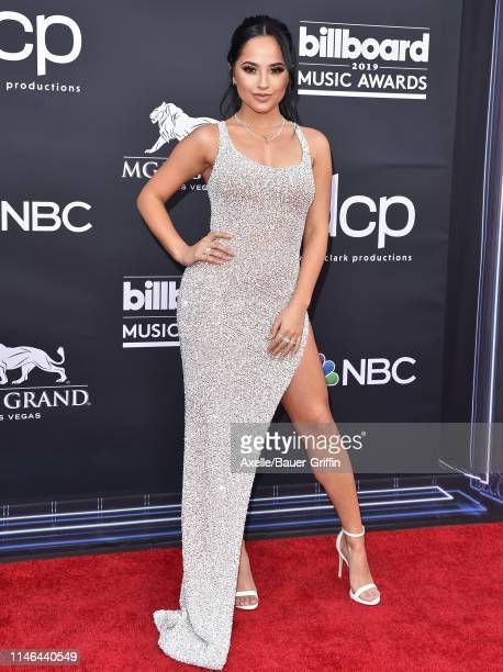 Becky G attends the 2019 Billboard Music Awards at MGM Grand Garden Arena on May 01 2019 in Las Vegas Nevada