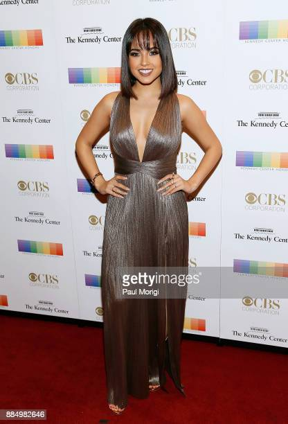 Becky G attends the 40th Kennedy Center Honors at the Kennedy Center on December 3 2017 in Washington DC