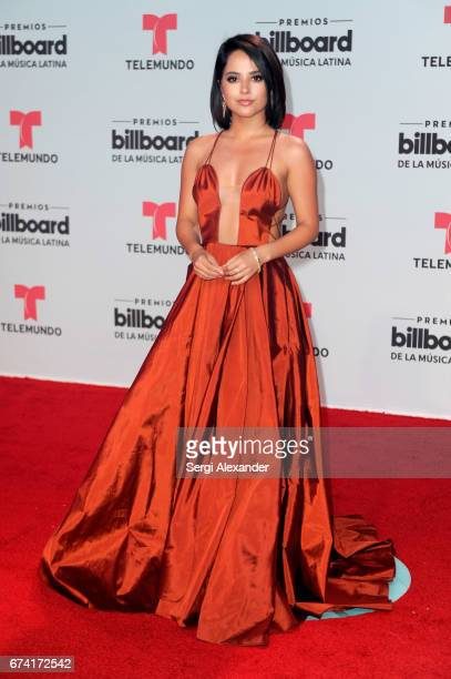 Becky G attends the Billboard Latin Music Awards at Watsco Center on April 27 2017 in Coral Gables Florida