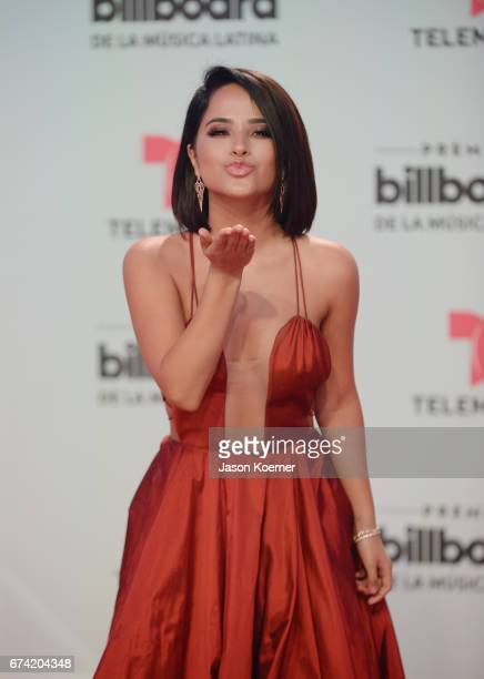 Becky G attends the Billboard Latin Music Awards at Watsco Center on April 27 2017 in Miami Florida