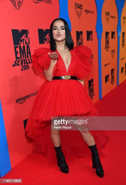 Becky G attends the MTV EMAs 2019 at FIBES Conference and Exhibition Centre on November 03 2019 in Seville Spain