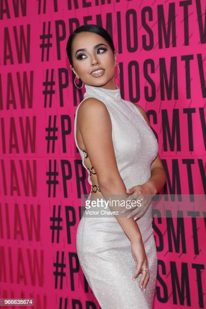 Becky G attends the MTV MIAW Awards 2018 at Arena Ciudad de Mexico on June 2 2018 in Mexico City Mexico
