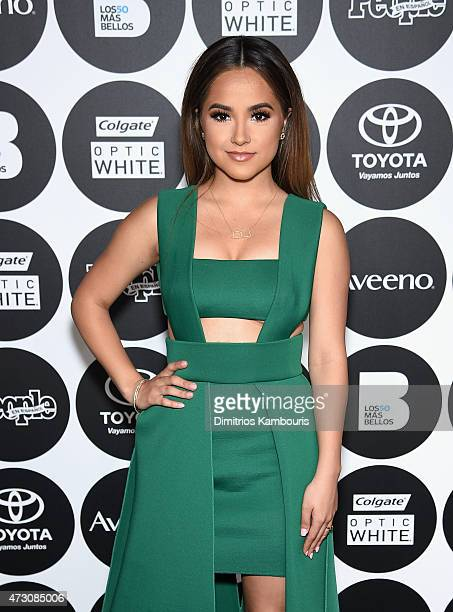 Becky G attends the People En Espanol's '50 Most Beautiful' 2015 Gala on May 12 2015 in New York City