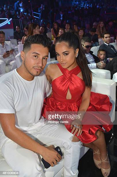 Becky G attends Univision's Premios Juventud 2015 at Bank United Center on July 16 2015 in Miami Florida