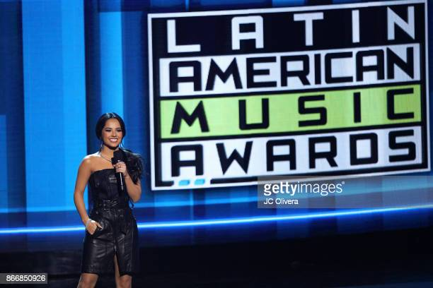 Becky G hosts the 2017 Latin American Music Awards at Dolby Theatre on October 26 2017 in Hollywood California
