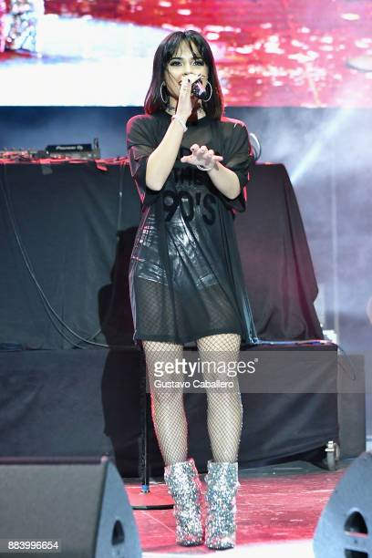Becky G performs at the AHF World AIDS Day Concert on December 1 2017 in Miami Florida