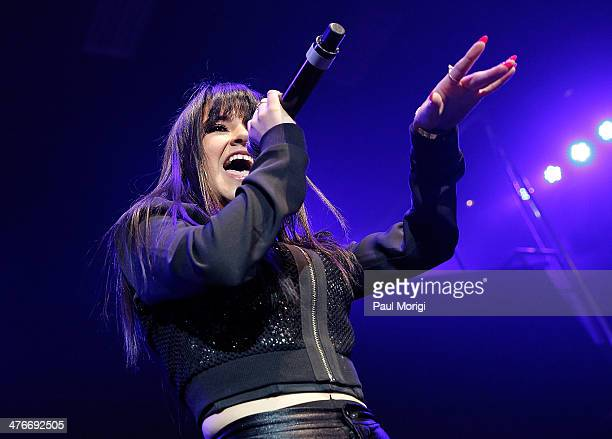 Becky G performs at The Fillmore Silver Spring on March 4 2014 in Silver Spring Maryland