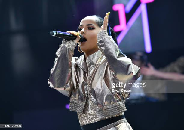 Becky G performs onstage during 2019 1035 KTU KTUphoria presented by Pepsi at Northwell Health at Jones Beach Theater on June 15 2019 in Wantagh New...