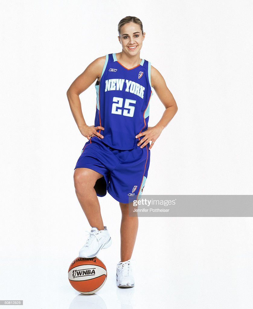 Becky Hammon #25 of the New York Liberty poses for a photograph during the WNBA 'This Is Who I Am' campaign on March 11, 2004 in New York City, New York.