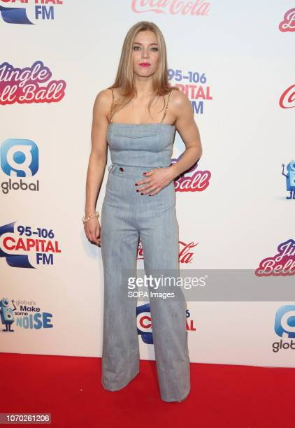 Becky Hill at the Capital Jingle Bell Ball with CocaCola on Day one at The O2 in Peninsula Square