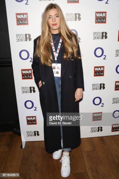 Becky HIll attends as AltJ perform an intimate set at The Garage as part of the War Child BRITs Week together with O2 gigs to support children...