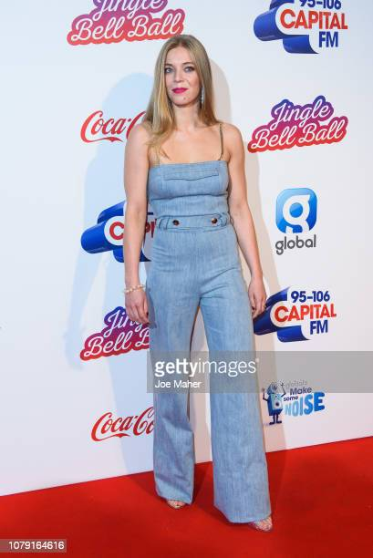 Becky Hill attends the Capital FM Jingle Bell Ball at The O2 Arena on December 08 2018 in London England
