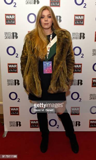 Becky Hill joined a host of famous faces at the first of the War Child BRITs Week together with O2 gigs to support children affected by conflict at...