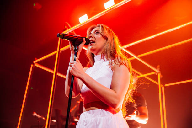 GBR: Becky Hill Performs At Cardiff University