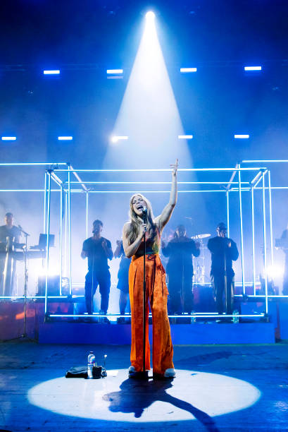 GBR: Becky Hill Performs At O2 Academy Brixton