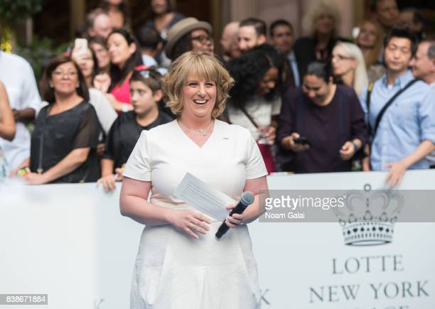 Becky Hubbard attends the 2017 Lotte New York Palace Invitational at Lotte New York Palace on August 24 2017 in New York City