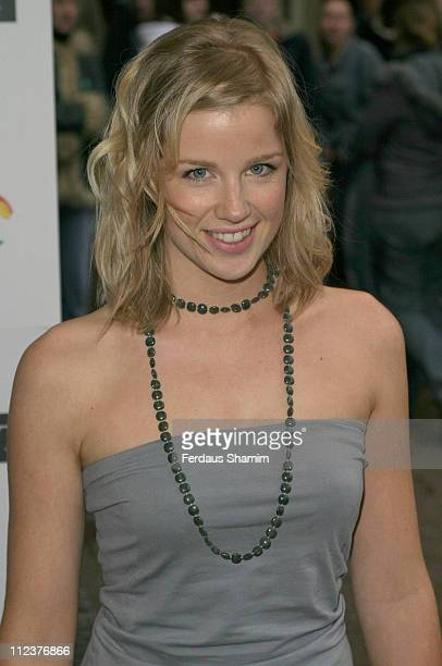 Becky Jago during The Breathing Life Awards 2004 Arrivals at Royal Lancaster Hotel in London Great Britain