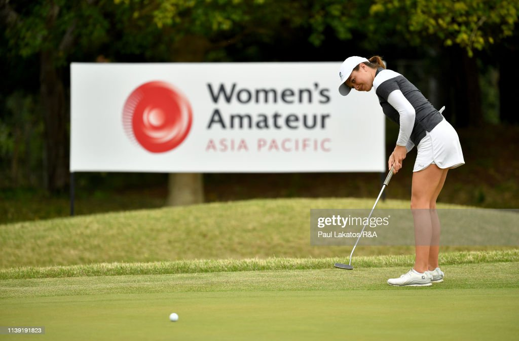 JPN: Women's Amateur Asia-Pacific Championship - Day 1