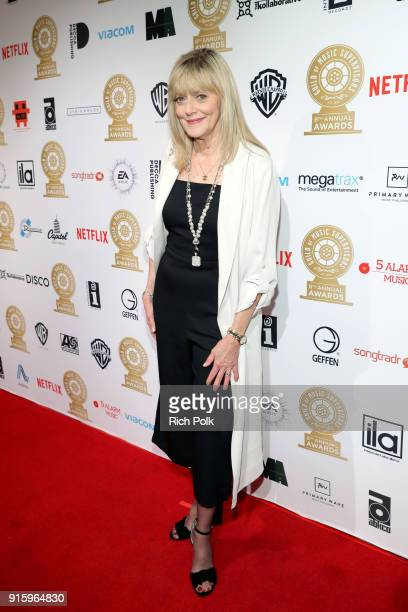 Becky MancusoWinding attends the 8th Annual Guild of Music Supervisors Awards at The Theatre at Ace Hotel on February 8 2018 in Los Angeles California