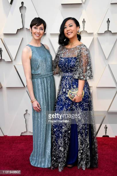 Becky NeimanCobb and Domee Shi attend the 91st Annual Academy Awards at Hollywood and Highland on February 24 2019 in Hollywood California