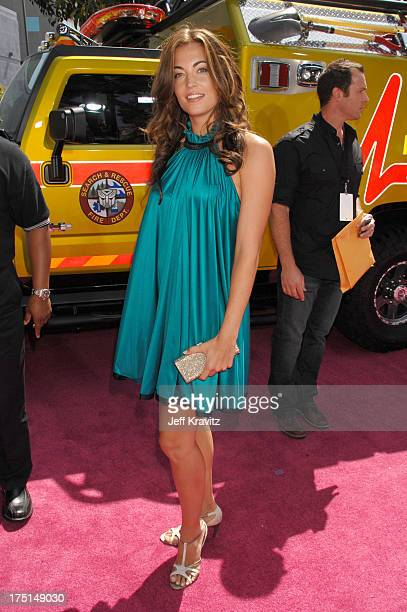 Becky O'Donohue during 2007 MTV Movie Awards Red Carpet at Gibson Amphitheater in Los Angeles California United States