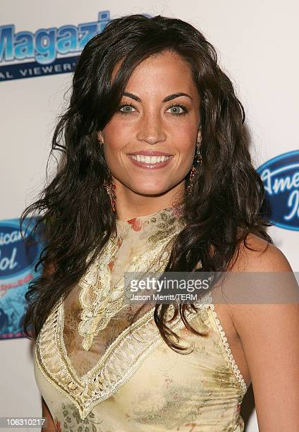 Becky O'Donohue during American Idol Season 5 Launch Party at Cinespace in Hollywood California United States