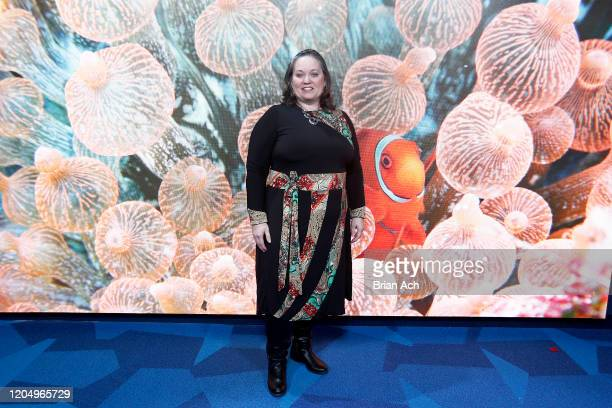 Becky Poole attends NYFW Powered By hiTechMODA on February 08 2020 in New York City