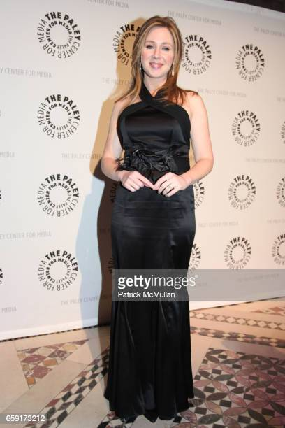 Becky Quick attends The Paley Center for Media's Annual Gala Honors KEN LOWE SIR MARTIN SORRELL with special performance by RUFUS WAINWRIGHT at 110...