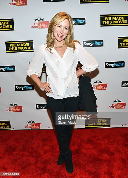 Becky Quick attends We Made This Movie World Premiere at School of Visual Arts Theater on September 20 2012 in New York City