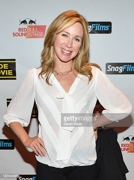 Becky Quick attends 'We Made This Movie' World Premiere at School of Visual Arts Theater on September 20 2012 in New York City