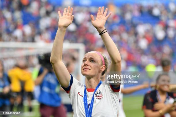 Becky Sauerbrunn of the United States after the 2019 FIFA Women's World Cup France final match between the Netherlands and the United States at Stade...