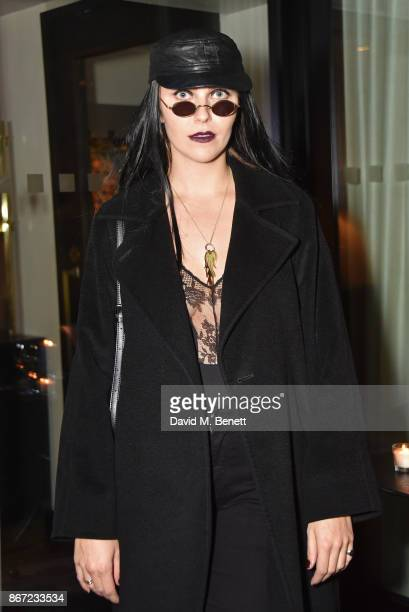 Becky Tong attends Dali's Dream Halloween party hosted by Velocity Black and The Mandrake Hotel on October 27 2017 in London England