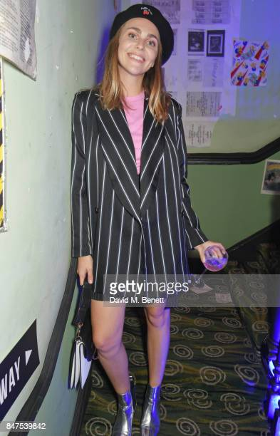 Becky Tong attends Fiorucci The Resurrection LFW Party supported by Martini at L'Escargot on September 15 2017 in London England