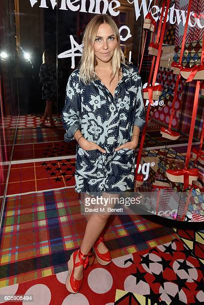 Becky Tong attends Melissa X Vivienne Westwood Anglomania Ride The Rocking Horse at Galeria Melissa on September 15 2016 in London United Kingdom