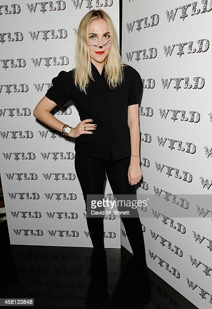 Becky Tong attends Nightmare on Wardour Street at Wyld Bar on October 30 2014 in London United Kingdom