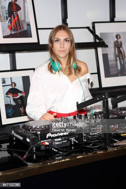Becky Tong attends the Amanda Wakeley LFW Party on September 14 2017 in London England