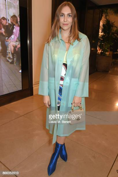 Becky Tong attends the Burberry BAFTA Breakthrough Brits 2017 at the global Burberry flagship 121 Regent Street on October 25 2017 in London England