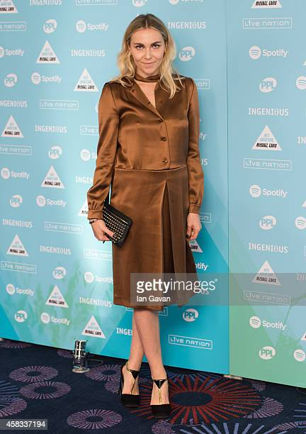Becky Tong attends the Music Industry Trust Awards at Grosvenor House Hotel on November 3 2014 in London England The Music Industry Trust Award is in...