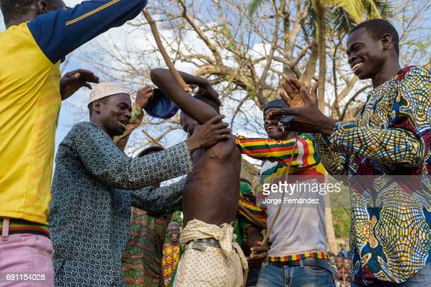 Becoming a man for the Fulani boys of Benin is not an easy task they have to endure a harsh initiation rite before being considered a man and get the...