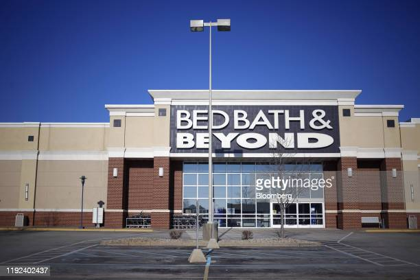 Bed Bath & Beyond Inc. Store stands in Clarksville, Indiana, U.S., on Sunday, Jan. 5, 2020. Bed Bath & Beyond Inc. Is scheduled to release earnings...