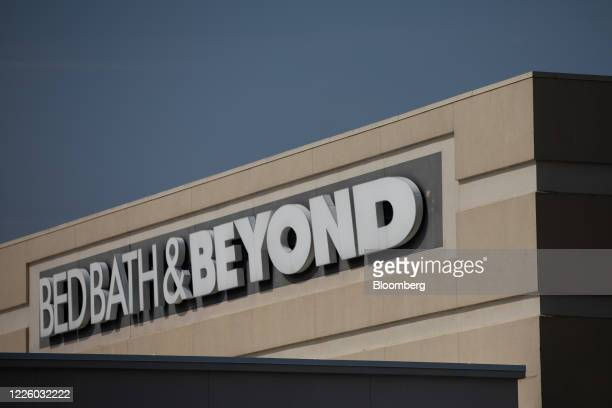 Bed Bath & Beyond store in Farmington Hills, Michigan, U.S., on Friday, July 10, 2020. Bed Bath & Beyond Inc.Plans to shrink its store base, closing...