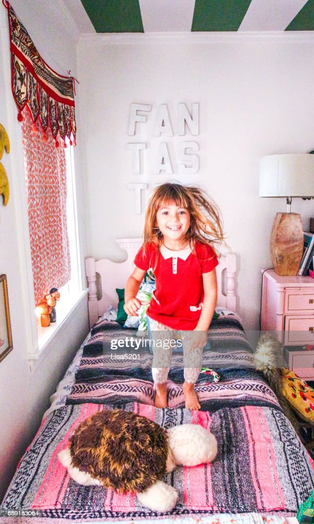 Bed Bouncer : Stock Photo