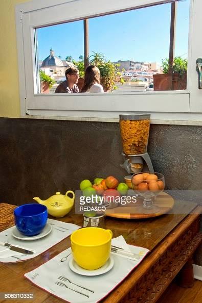 Bed & Breakfast La Terrazza sul Porto. Cagliari. Sardinia. Italy ...