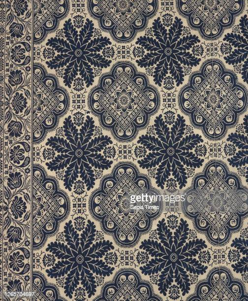 Bed cover , John LaTourette , about 1840, cotton and wool, 84 x 75 in. 86 x 75 in. , Textile and Fashion Arts.