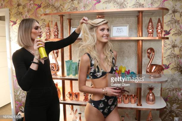 Bed Head at the PREY SWIM 'Summer in December' Fashion Show hosted by Audrina Patridge at the residence of Jonas Tahlin CEO Of Absolut Elyx on...