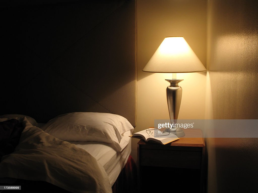 Bed Turned Down in Hotel Room : Stock Photo