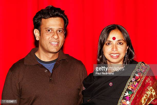 Bedabrata Pain and Shonali Bose during Film Independent's Project Involve Presents 'Amu' at Vista Theater in Los Angeles California United States